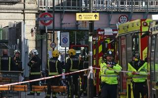 Parsons Green terror attack: Man arrested over tube bombing