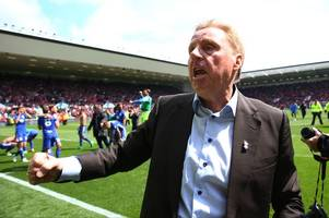 birmingham city 'part company' with manager harry redknapp after losing 3-1 to preston north end