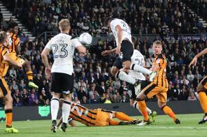 'it was fate' - curtis davies on his first goal for derby county