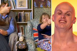gogglebox viewers watch hull security guard on naked attraction - with hilarious results