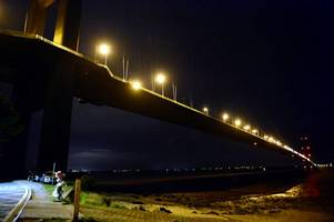 huge search launched as person 'jumps from humber bridge'