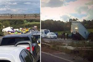 The hero drivers who pulled families from burning cars in horror M5 crash which killed four people