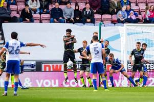 ryan sweeney sees red as bristol rovers lose at wigan athletic