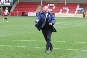 we belong in the top half of the table, says cheltenham town manager gary johnson