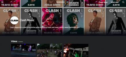clash channel launches on samsungvr.com