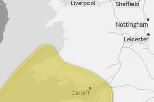 severe weather warnings and flood alerts have been issued for parts of wales