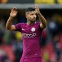 Manchester City getting ready to toast Sergio Aguero's scoring exploits