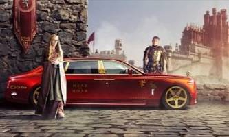 Game of Thrones Characters Get Cars in the Awesome Renderings