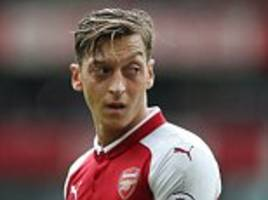 arsenal dealt blow with mesut ozil out of chelsea clash
