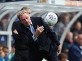 harry redknapp's career may be over after birmingham sack