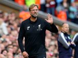 liverpool boss jurgen klopp positive despite winless week
