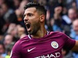 man city pair jesus and aguero are too hot to handle