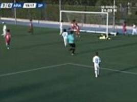 Marcelo's son Enzo scores hat-trick on Real Madrid debut
