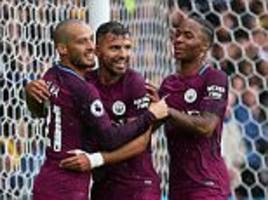 sergio aguero hailed by manchester city team-mates