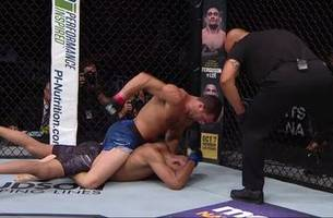Former champ Luke Rockhold submits David Branch by strikes in his return at UFC Pittsburgh