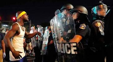 Protesters Smash Windows, Throw Bricks At Cops In Second Night Of St. Louis Violence
