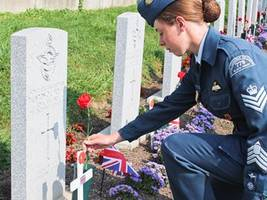 Second World War Royal Air Force pilots remembered:16 pilots died at Mount Hope Air Port during training exercises between 1941 and 1943