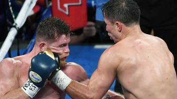 draw with alvarez 'bad for the sport' - golovkin