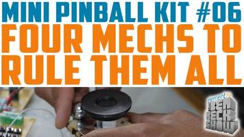 Ben Heck's mini pinball: All about the control board