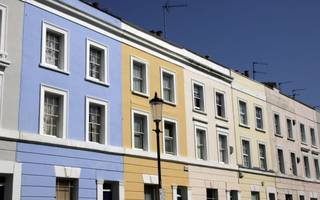falling asking prices in london drag down average british house prices