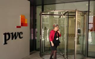 pwc partner pay falls as deloitte gains ground