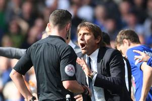 Chelsea's Eden Hazard to face Nottingham Forest, but David Luiz suspended after red against Arsenal