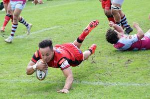 hartpury celebrate first championship win at rotherham titans