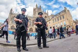 avon and somerset police urge bath residents to 'remain alert' after parsons green terror attack