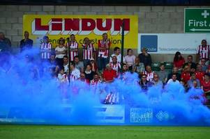'After London tube bomb, we can do without idiots using flares at footie matches'
