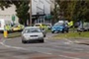 Teenage pedestrian in hospital after being struck by a car in...