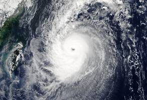 Strong typhoon hits Japan, halting transport