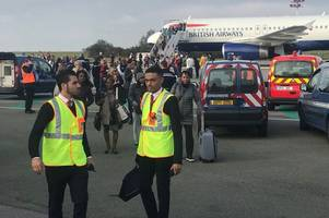 British Airways flight evacuated at Paris airport after 'direct security threat'