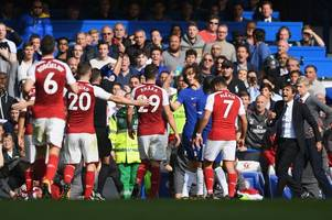 Chelsea 0 Arsenal 0 as Gunners battle to deserved draw against 10-man Blues - 5 talking points