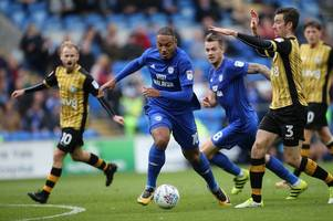 cardiff city boss neil warnock insists kenneth zohore is not to blame as striker cuts an isolated figure in sheffield wednesday draw