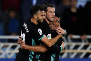 Gareth Bale continues to defy Real Madrid boo boys by bagging scintillating goal in win over Sociedad