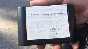 collector says he has michael jackson's moonwalker with a chiptune thriller