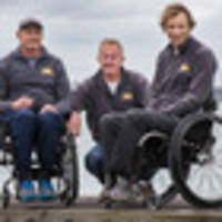 Delight as top sailor's wheelchair returned