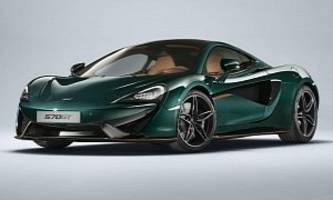 mclaren 570gt gets limited-edition mso treatment with xp green paint