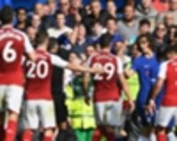 'Kolasinac fear caused Luiz to wet himself' - Wilkins slams Chelsea man for red card