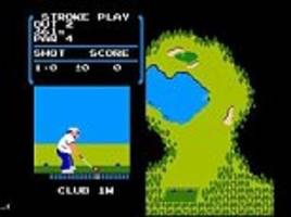 Classic NES title Golf found on the Switch console