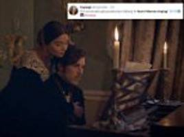 Victoria fans fall in love with Jenna Coleman's singing