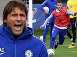 Chelsea train ahead of Nottingham Forest Carabao Cup clash