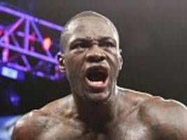 deontay wilder to defend title against  luis ortiz