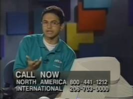 before he was microsoft's ceo, a baby-faced satya nadella pitched excel to developers in a 1993 telecast (msft)