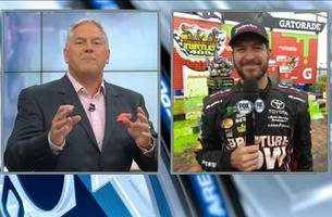 Martin Truex Jr. Post-Race Interview | 2017 CHICAGO | NASCAR VICTORY LANE