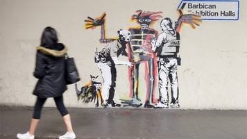 banksy: new murals pop up in central london