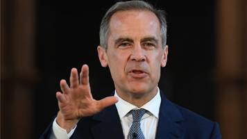 Mark Carney says rate rises will be gradual and limited