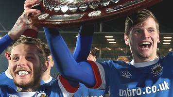 county antrim shield: linfield begin defence against ballyclare comrades