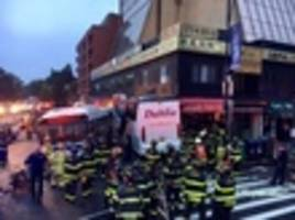 3 Dead, Over A Dozen Injured After Two Buses Crash In Queens