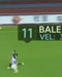 Real Madrid star Gareth Bale clocked at unbelievable speed as he scores stunning solo goal